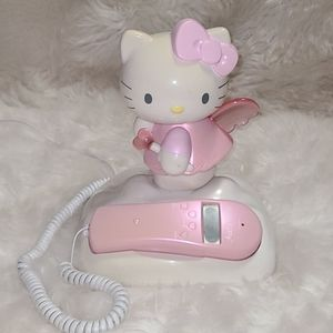 Hello Kitty Angel Caller ID Home Telephone